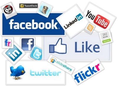 2015 social media collage