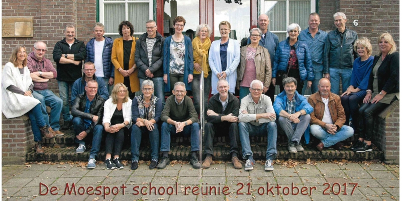 2017 Reünie St. Jozefschool 60 jaar