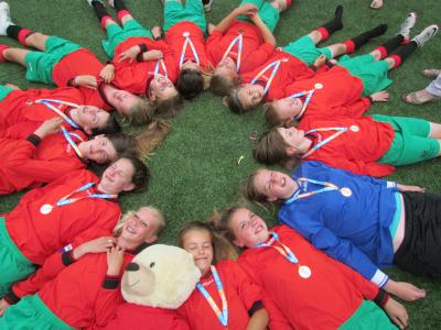KNVB finale schoolvoetbal 2013