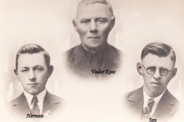 Kwaaie Gat ome Kees, Herman en Jan