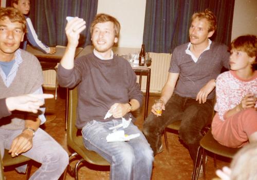 Kamp gr 8 Putten leiding 1984
