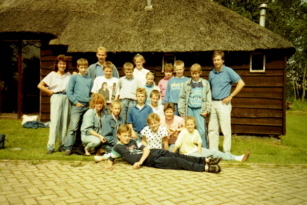 Kalenberg groepsfoto 1985