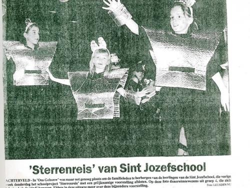 Projekt Sterrenreis 1999-2000 b