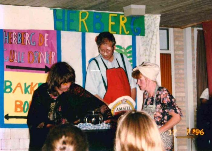 Team in actie 1996