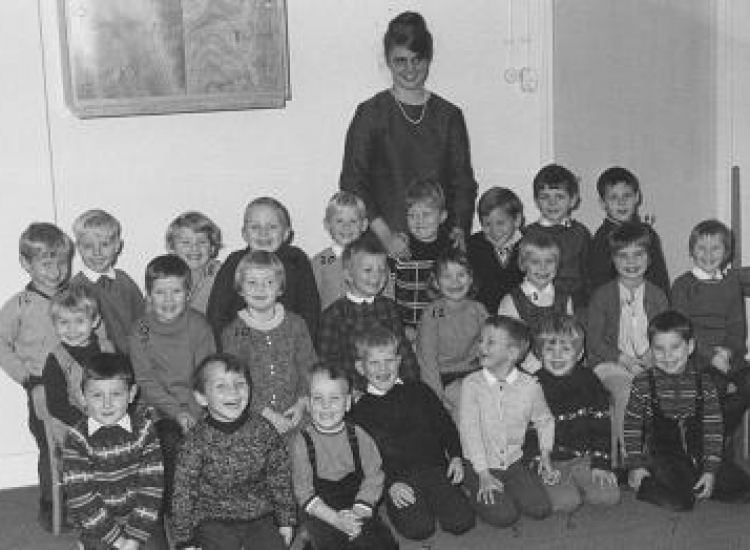 Kleuterklasfoto 1968 – 1969