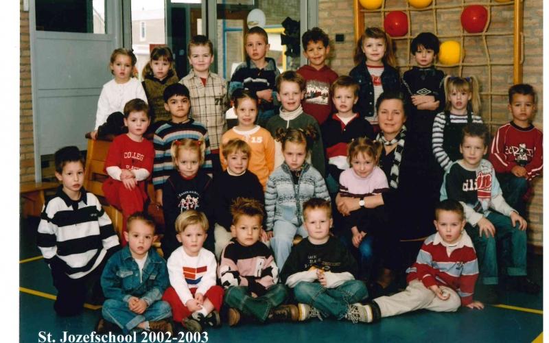 Kleutergroep 2002-2003