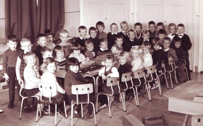 Kleuterklas 1965