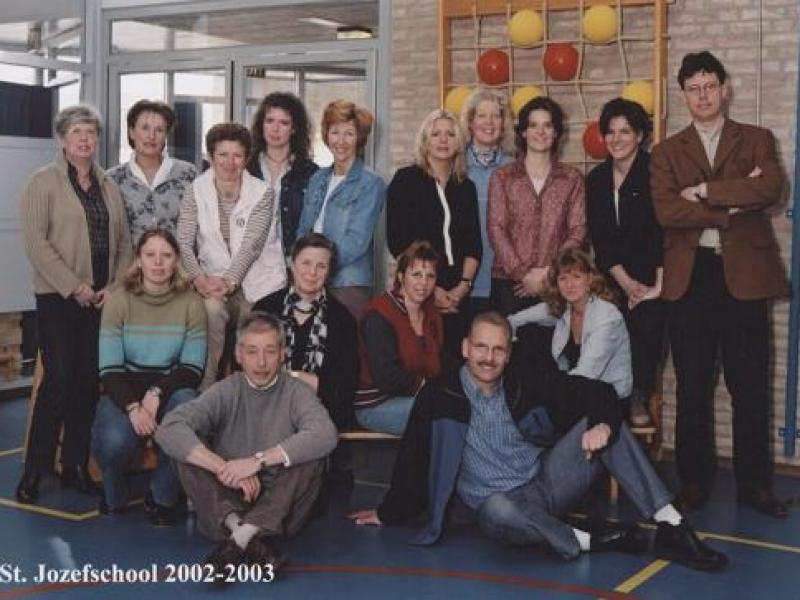 Teamfoto 2002 – 2003