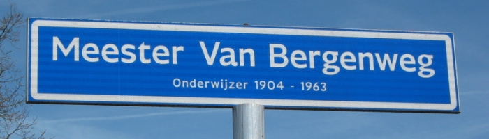 van Bergenweg