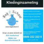 2020, vrijdag 16 oktober Kledinginzameling Bag2School